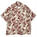Used Hawaiian Shirt / Red