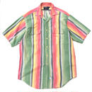 Made in USA / Polo Ralph Lauren / Stripe Shirt / Used