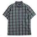 Used Patagonia / S/S Check Shirt / Green Check