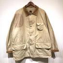 50s Vintage / RED HEAD / Cotton Poplin Hunting Jacket / Beige