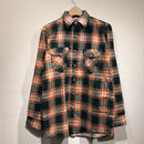 DEAD STOCK OSHKOSH / L/S Print Flannel Shirts