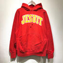 "90s Champion /  Reverse Weave Sweater ""JESUIT"" / RED L"