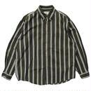 Eddie Bauer / L/S B.D. Stripe Shirt / Khaki / Used