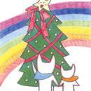 ポストカード10枚セット「ネコ:メリークリスマス」
