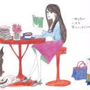 ポストカード10枚セット「春の日の午後茶」