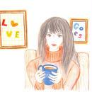 ポストカード10枚セット「秋の日の午後茶」