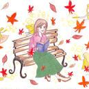ポストカード10枚セット「枯葉と妖精のダンス」