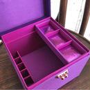 MB13 メイクセットボックスGrand 葡萄(紫)
