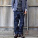 【RECOMMEND】F.O.B エフオービーファクトリー F4039 DENIM BAKER PANTS デニムベイカーパンツ OW ワンウォッシュ