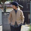【再入荷!】Re made in tokyo japan RELAX TWILL LIGHT BLOUSON  アールーイーメイドイントーキョージャパンリラックスツイルライトブルゾン ベージュ