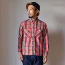 【完売御礼】F.O.B FACTORYHEAVY NEL WORKSHIRT エフオービーファクトリー ヘビーネルワークシャツ