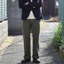 【ラスト1本!】Barns Outfitters SMART WIDE CHINO KHAKI バーンズアウトフィッターズ スマートワイドチノ カーキ