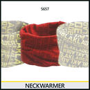 ネックウォーマー レッド/ワインレッド 9083-5657
