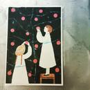 card :::  りんごを摘み取る女の子たち