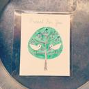 card ::: ことりとさくらんぼの木