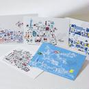 旅するはがき 〈福岡デザインポストカード5枚セット〉