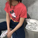 再入荷!大人可愛いミッキーTシャツ(4color)【クリックポスト対象商品】