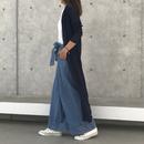 ガーゼ天竺ロングカーディガン(3color)【クリックポスト対象商品】
