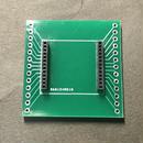 EASEL社LoRaモジュール(ES920LRB、ES920LRA1B)用ピッチ変換基盤(ハーフピッチソケット実装済み)