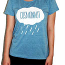 Rain Drop Tee Girls  Blue