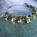 ≪受注制作≫花冠・りんごのウエディングヘッドドレス