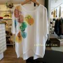 気球プリントドルマンTシャツ