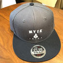MYTK ベースボールCAP(チャコール&ブラック)