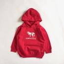 KIDS Hoodie (Logo /Red)