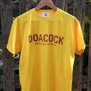 "DOACOCK × DOARAT ""DOACOCK 15th Tee"" YELLOW×BROWN"
