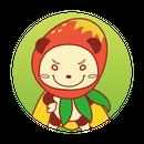 缶バッジ(マンゴーGOGO!)
