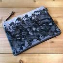 ZoMBitch 'MAD BLACK' clutch bag
