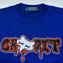 "CREDIT ""BBQ FOX"" T-SHIRTS・Blue"