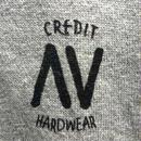 """CREDIT× AA """"CREW NECK"""" SWEAT・Gray/ 撥水加工"""