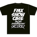 CREDIT × FMX SHOW CASE・DRY Tee・Black