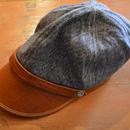 boncoura ボンクラ帽❝ブルー杢❞