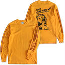 "CREIGHT ""SPARTA MOM LTD L/S TEE"" / GOLD"