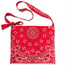 "CREIGHT BANDANNA COLLECTION ""SACOCHE"" / RED"
