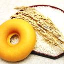 グルテンフリー 米粉焼きドーナツプレーン12個