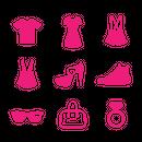 Fashion/EC pictograms