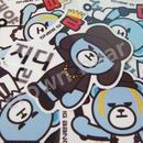 BIGBANG オリジナルYGベア 耐水ステッカー/シール G-DRAGON/ジヨン ver.