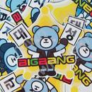 BIGBANG オリジナルYGベア ハングル名前入り耐水シールD-LITEver