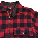 vtg  Penn Rich h/zip wool shirts with cinstrap
