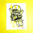 【SILK SCREEN PRINT】Cherzes La Ghost by  Jeroen Huijbregts