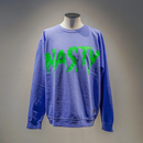 NASTY CREWNECK (PURPLE)【CC0010】