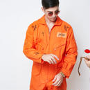 FLIGHT SUITS (ORANGE) :  GANGSTER DOODLES【CC18SS-001】