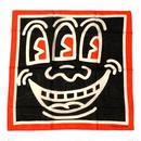 Keith Haring Bandana Smile【KH-002】