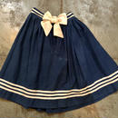 vintage  sailor skirt