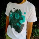 GASMASK T-Shirt【WHITE】