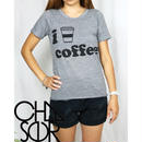 CHASER I HEART COFFEE TEE アイラブコーヒーT