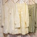 【NANEA】【インド製】綿ボイル・刺繍チュニック